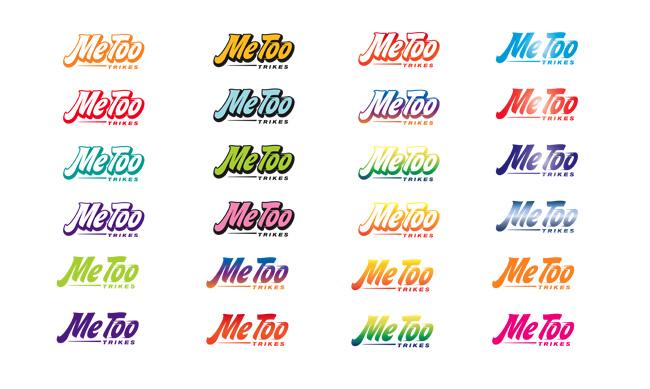 MeToo Trikes Branding Site Design FEZLAB
